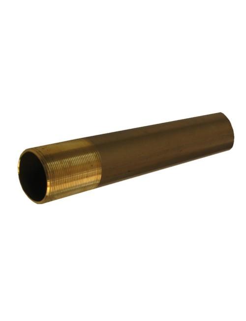 RURA-ST-BRĄZ-30X500-GZ - Rura stewowa z brązu jednostronnie gwintowana 30mm -