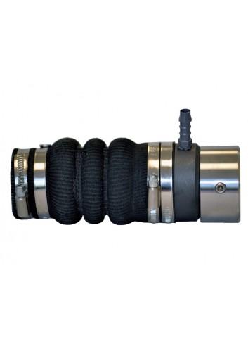 Dławica z uszczelnieniem mechanicznym i wtryskiem wody - mieszek wzmocniony Kevlarem Ø 25mm