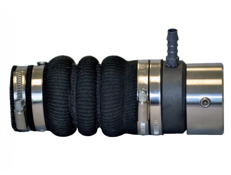 SUPERSEAL16002502 - Dławica  Ø25mm z uszczelnieniem mechanicznym i wtryskiem wody - mieszek wzmocniony Kevlarem -