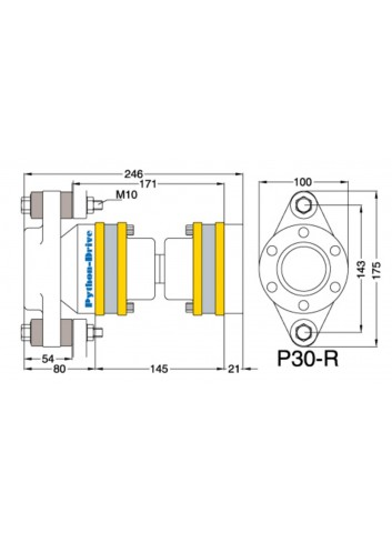 P30-R - Python Drive P 30-R -