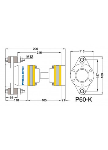 P60-K - Python Drive P 60-K -