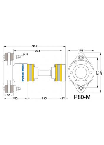 P80-M - Python Drive P 80-M -