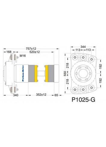 P1025-G - Python Drive P1025-G -