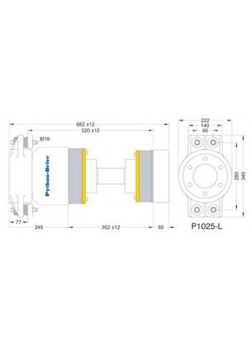 P1025-L - Python Drive P1025-L -