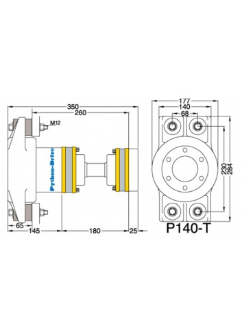 P140-T - Python Drive P140-T -