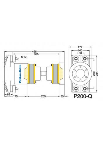 P200-Q - Python Drive P200-Q -