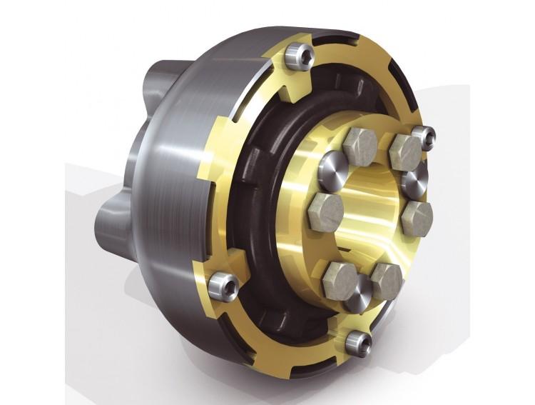 """Centa-CF-M127-K-1.4 -H - Sprzęgło Centaflex CF-M-127 Hurth/PRM/TMC 4"""" Wał 25/30/35 - 250/175 Nm -"""
