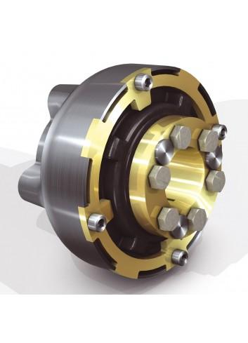 """Centa-CF-M160-K-1.0 - H - Sprzęgło Centaflex CF-M-160 Hurth/PRM/TMC 4""""/5"""" Wał 25/30/35/40 - 500/350 Nm -"""