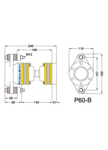 P60-B - Python Drive P60-B -