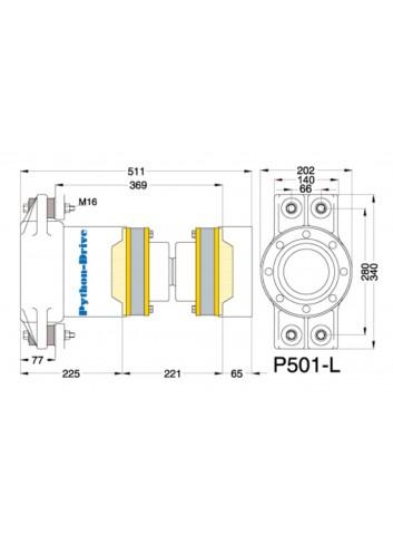 P501-L - Python Drive P501-L -