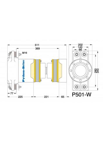 P501-W - Python Drive P501-W -