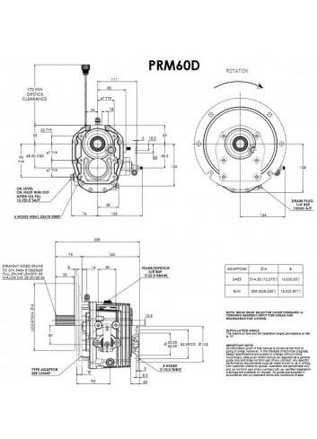 - Przekładnia PRM 60D -