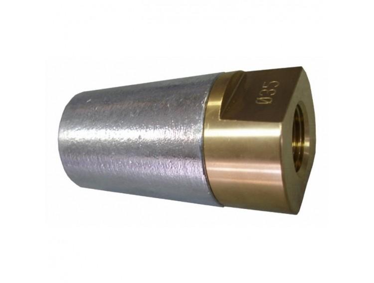NAKR30-M20X1,5 - Nakrętka wału z anodą 30mm -