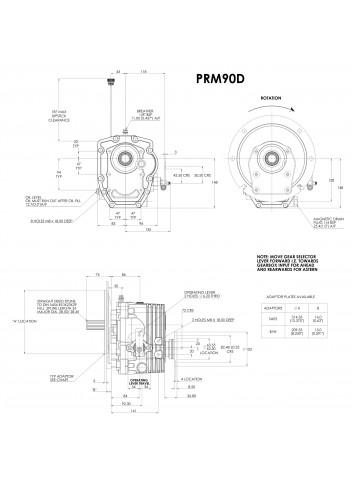 - Przekładnia PRM 90D -