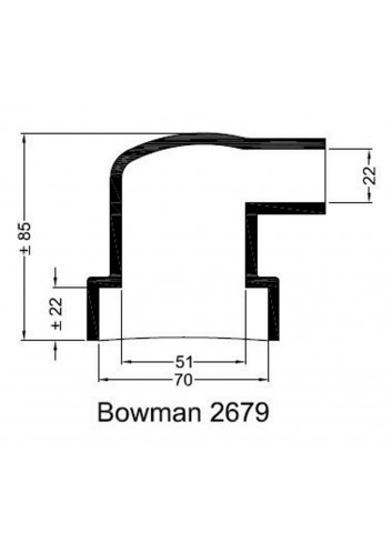- Dekiel chłodnicy Bowman 2679 -
