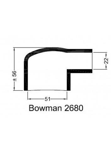 - Dekiel chłodnicy Bowman 2680 -