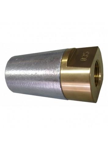 NAKR45-M27X1,5 - Nakrętka wału z anodą 45mm -