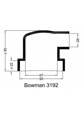 - Dekiel chłodnicy Bowman 3192 -