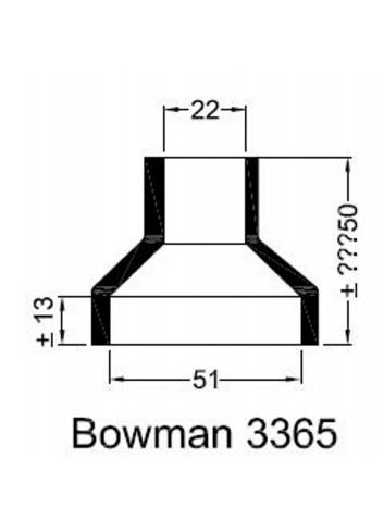 - Dekiel chłodnicy Bowman 3365 -