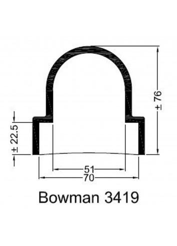 - Dekiel chłodnicy Bowman 3419 -