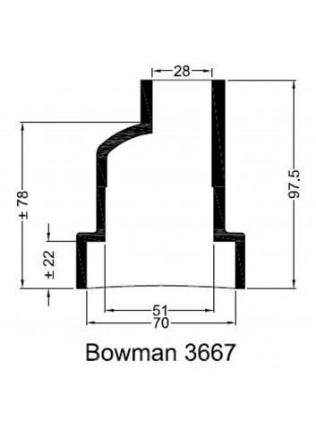 - Dekiel chłodnicy Bowman 3667 -