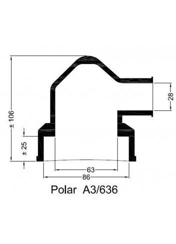 Dekiel chłodnicy POLAR A3/636