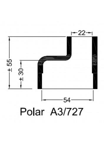 Dekiel chłodnicy POLAR A3/727