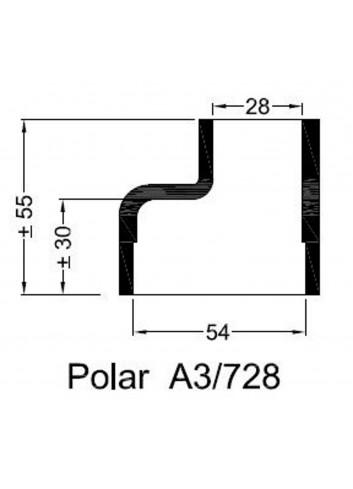 Dekiel chłodnicy POLAR A3/728