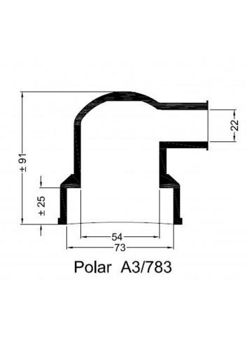 - Dekiel chłodnicy POLAR A3/783 -