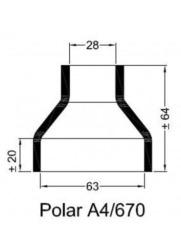 - Dekiel chłodnicy POLAR A4/670 -