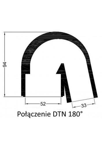 - Połączenie DTN 180° -