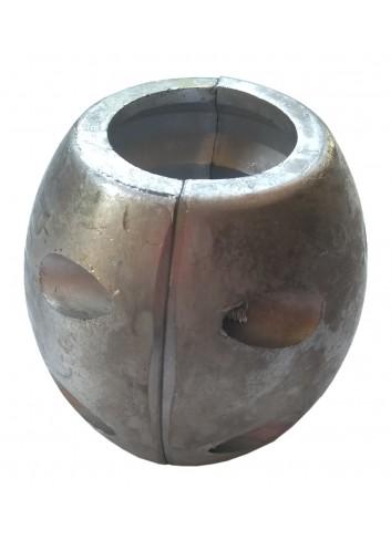 Anoda owalna na wał 45 mm