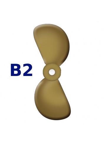 """SRUBA-B2-12 - Śruba 2-płatowa 12"""" -"""