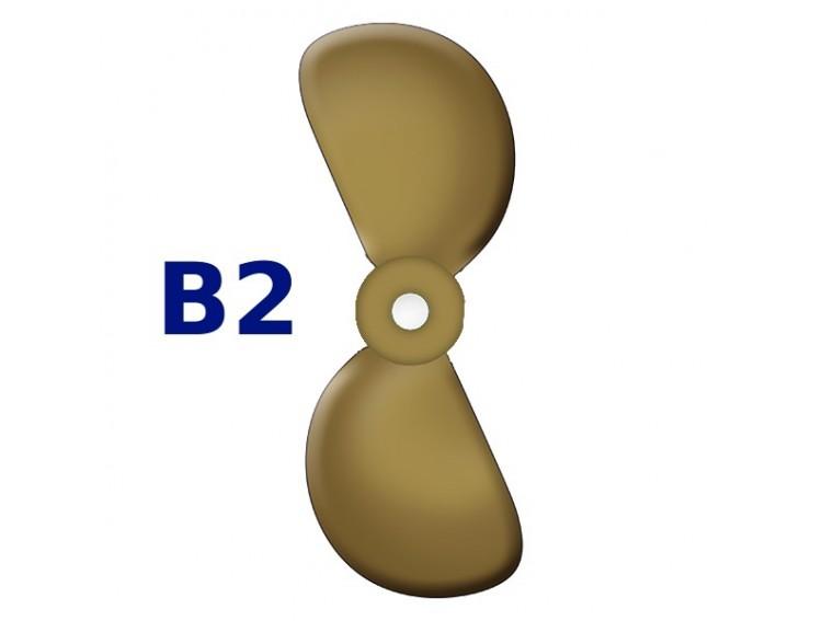 SRUBA-B2-12 - Śruba 2-płatowa 12