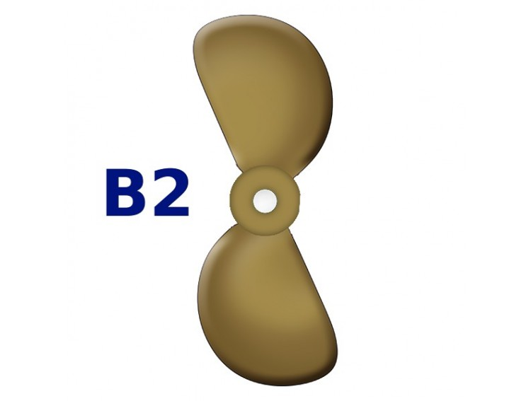 """SRUBA-B2-15 - Śruba 2-płatowa 15"""" -"""