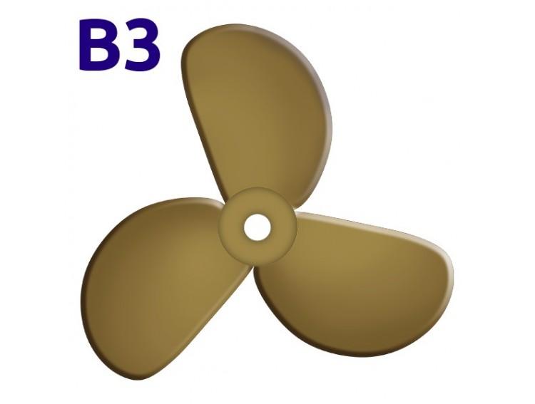SRUBA-B3-10 - Śruba 3-płatowa 10