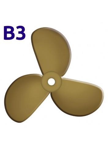 SRUBA-B3-17 - Śruba 3-płatowa 17