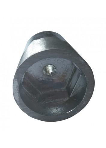 ANODA40HEKS - Anoda wału stożkowa 40 mm - heks -