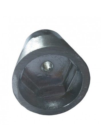 ANODA45HEKS - Anoda wału stożkowa 45 mm - heks -