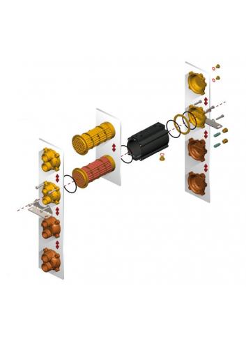 Chłodnica E065-241-2/CN-BR-D-AA - Chłodnica typu E -