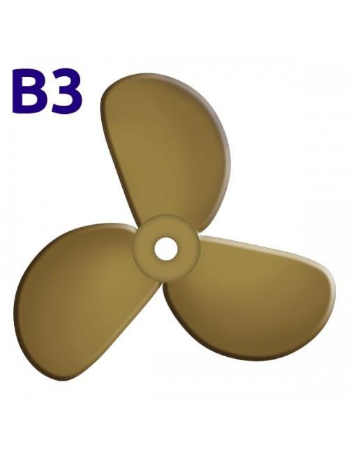 """SRUBA-B3-23 - Śruba 3-płatowa  23"""" -"""