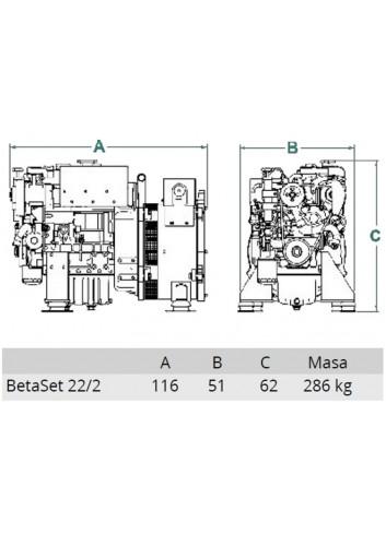 BetaSet/BetaGen 22/2 - Generator BetaSet/BetaGen 22/2 -