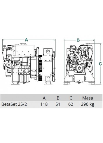 BetaSet/BetaGen 25/2 - Generator BetaSet/BetaGen 25/2 -