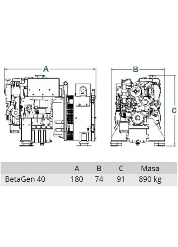 BetaSet/BetaGen 40 - Generator BetaSet/BetaGen 40 -
