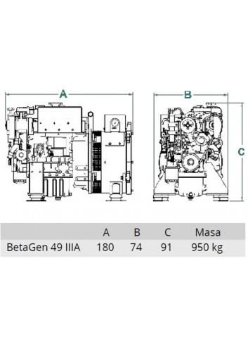 BetaSet/BetaGen 49T - Generator BetaSet/BetaGen 49T IIIA -