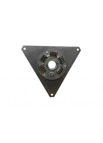 DPV1004-650-006 - Tarcza sprzęgła z metalowymi sprężynami 336,5 mm średnicy, 550 Nm, 26T, trójkątna -