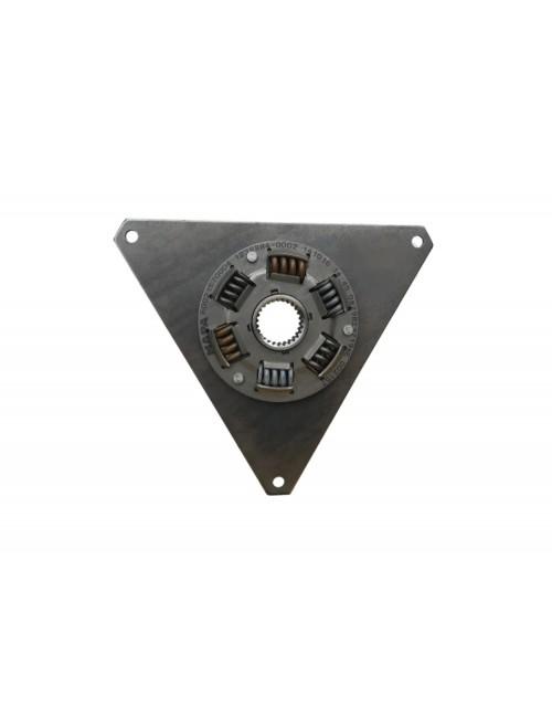 - Tarcza sprzęgła 253 mm średnicy z metalowymi sprężynami -