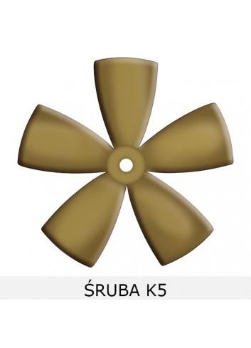- Śruby pięciopłatowe B5-K5-SS5 -