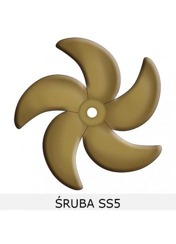 Śruby pięciopłatowe B5-K5-SS5