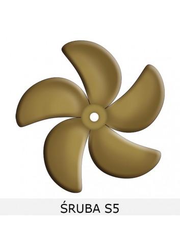 - Śruby pięciopłatowe S5 -